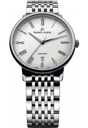"MAURICE LACROIX ""Les Classiques"" Stainless Steel Automatic Watch 38mm"