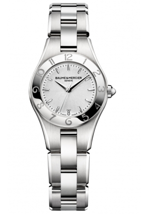 BAUME & MERCIER Linea Silver Dial Ladies Watch 27MM