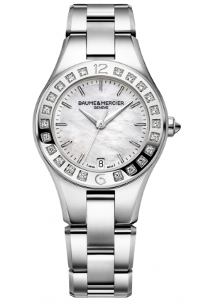 BAUME & MERCIER Analog Display Quartz Silver Watch 32mm