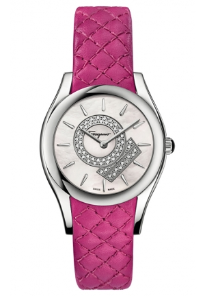 LIRICA Analog Display Swiss Quartz Pink Watch 32 mm