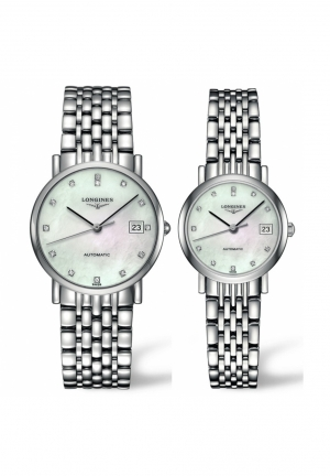 LONGINES ELEGANT COLLECTION AUTOMATIC L4.809.4.87.6-L4.309.4.87.6