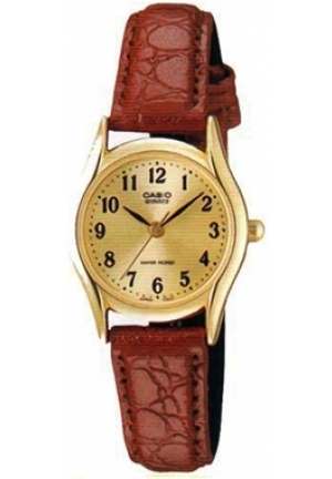 Casio Original & Genuine Analog Leather Belt Watch