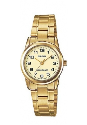 CASIO STANDARD LADIES STANILESS STEEL GOLD 20MM