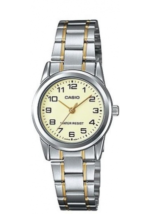 CASIO STANDARD LADIES STANILESS STEELTWO-TONE  20MM