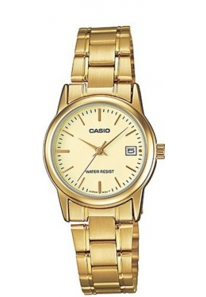 CASIO STANDARD LADIES STAINLESS STEEL GOLD20MM