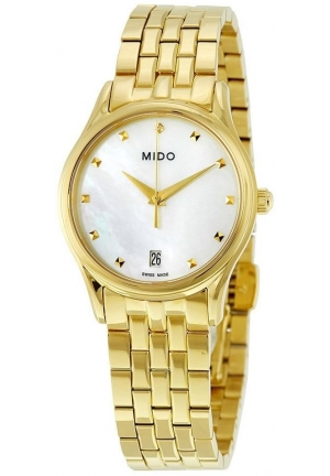 Mido Romantique Ladies Watch - Mother Of Pearl Dial M0042103311600
