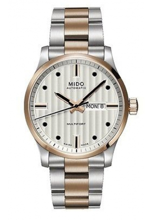 Mido Multifort Automatic Silver Dial Two-tone Mens Watch M005.430.22.031.02 42mm