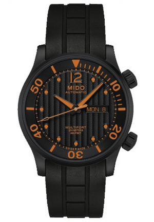Mido Rubber Band Automatic Multifort Watch M005.930.37.050.00 42mm