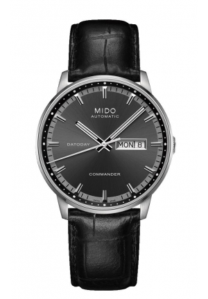 Mido Commander II Automatic Anthracite Dial Men's Watch M016.430.16.061.80