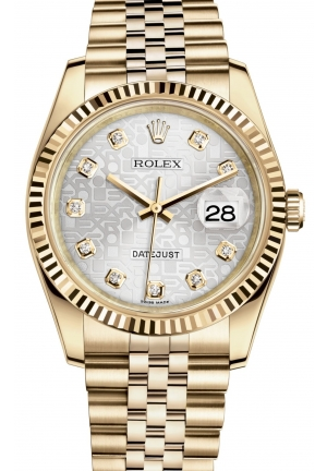 DATEJUST Oyster yellow gold , M116238-0069 36 mm