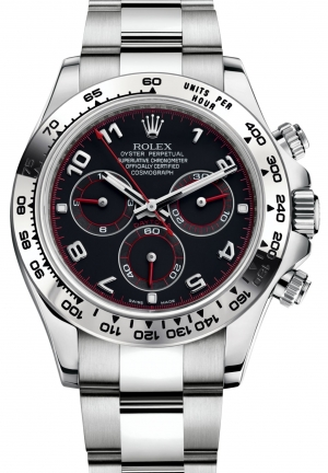 COSMOGRAPH DAYTONA Oyster white gold , M116509-0036 40 mm