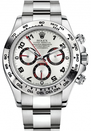 COSMOGRAPH DAYTONA Oyster white gold , M116509-0037 40 mm