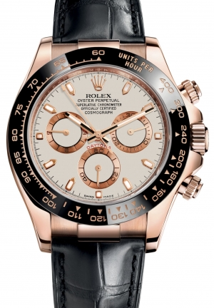 COSMOGRAPH DAYTONA Oyster Everose gold , M116515LN-0003 40 mm