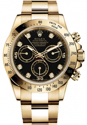 COSMOGRAPH DAYTONA Oyster yellow gold , M116528-0031 40 mm