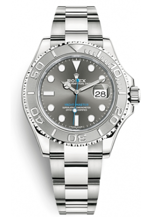 Rolex Yacht-Master 116622 Dark Rhodium Steel and Platinum