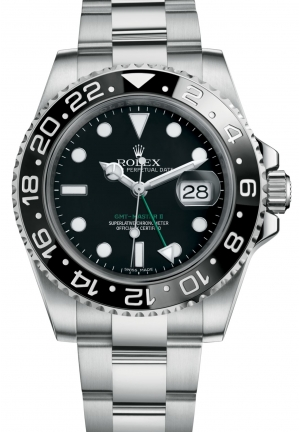 GMT-MASTER IIOyster steel , M116710LN-0001 40 mm