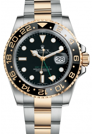 GMT-MASTER IIOyster steel and yellow gold , M116713LN-0001 40 mm