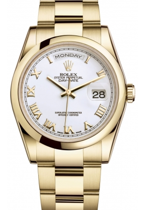DAY-DATE Oyster yellow gold , M118208-0087 36 mm