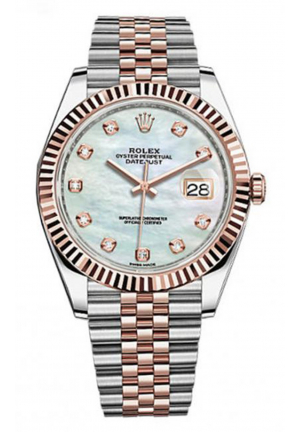DATEJUST MEN'S WATCH 126331 MOP DIAMOND JUBILEE, 41MM
