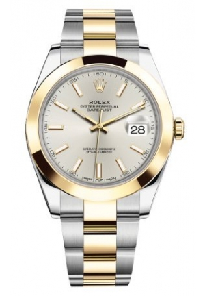 DATEJUST STEEL AND YELLOW GOLD MENS WATCH, M126333-0006, 41MM