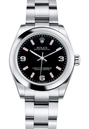 OYSTER PERPETUAL Oyster steel , M177200-0007 31 mm