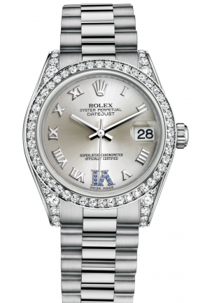 DATEJUST LADY 31 Oyster white gold and diamonds , M178159-0052 31 mm
