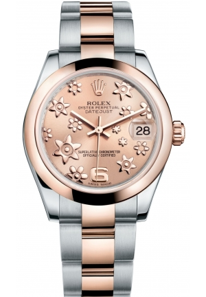 DATEJUST LADY 31 Oyster steel and Everose gold , M178241-0075 31 mm