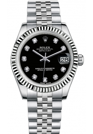 DATEJUST LADY 31 Oyster steel and white gold , M178274-0014 31 mm