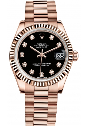 DATEJUST LADY 31 Oyster Everose gold , M178275F-0020 31 mm