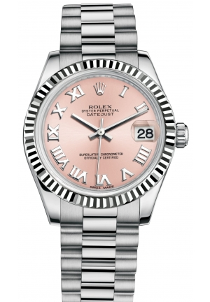DATEJUST LADY 31 Oyster white gold, M178279-0068 31mm
