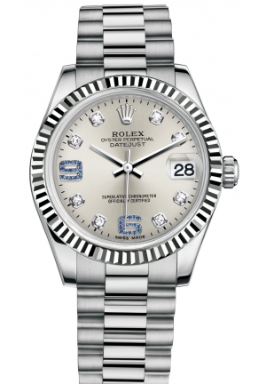 DATEJUST LADY 31 Oyster white gold , M178279-0080 31 mm