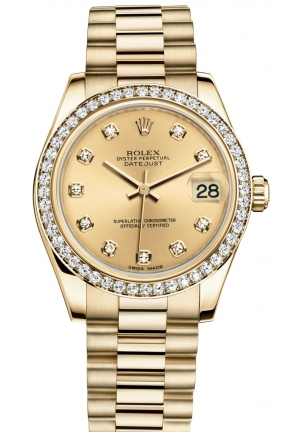 DATEJUST LADY 31 Oyster yellow gold , M178288-0007 31 mm