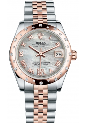 DATEJUST LADY 31 Oyster steel and Everose gold , M178341-0007 31 mm