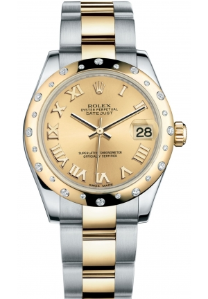 DATEJUST LADY 31 Oyster steel and yellow gold , M178343-0005 31 mm