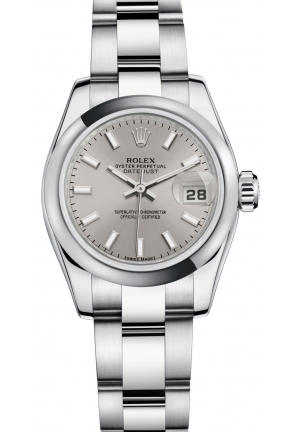 LADY-DATEJUST Oyster steel , M179160-0023 26 mm