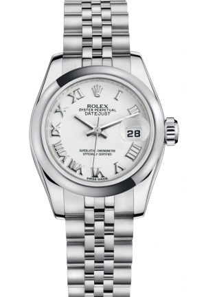 LADY-DATEJUST Oyster steel , M179160-0041 26 mm