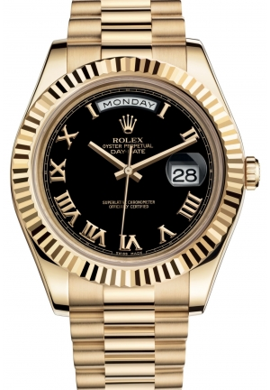 DAY-DATE IIOyster yellow gold , M218238-0041 41 mm