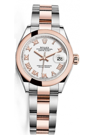 Rolex Lady-Datejust 28 White Dial Women's Watch M279161-0022