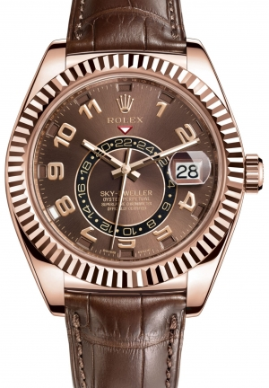 SKY-DWELLER Oyster Everose gold , M326135-0001 42 mm