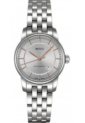 MIDO Baroncelli II Automatic Silver Dial Ladies Watch