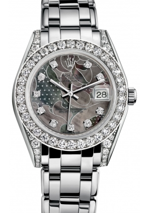 DATEJUST SPECIAL EDITION Oyster white gold and diamonds , M81159-0011 34 mm