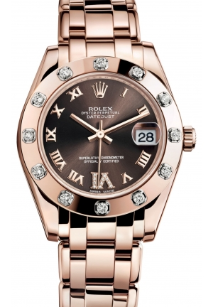DATEJUST SPECIAL EDITION Oyster Everose gold , M81315-0003 34 mm