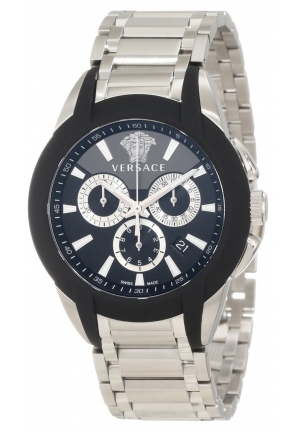 VERSACE Character Stainless Steel Chronograph Date Luminous 43mm