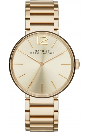 MARC JACOBS Peggy Gold Tone Stainless Steel Watch 36mm MBM3401
