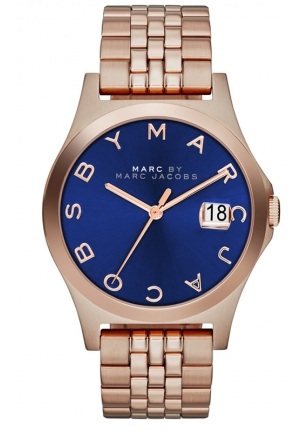 MARC JACOBS The Slim Rose Gold watch 36mm