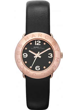 Amy Dinky Watch Black leather 26mm