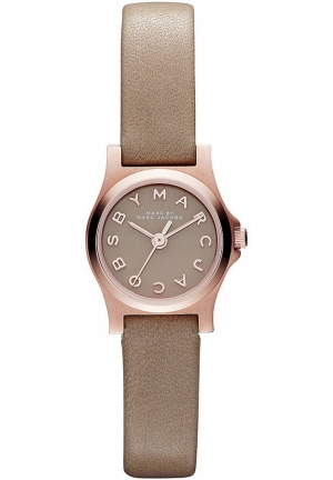 MARC JACOBS Henry Dinky Women's Leather Strap 21mm