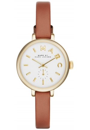 Sally Tan Leather Strap Watch 28mm