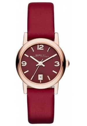 LEATHER FARROW VINTAGE ROUND STRAP 26MM MBM1403