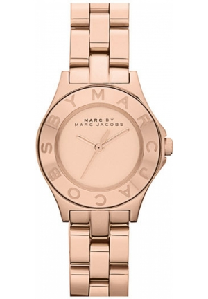 MARC JACOBS Small Blade Round Bracelet Watch 26mm